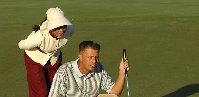 1.ゴルフのアプローチの距離感はとても重要